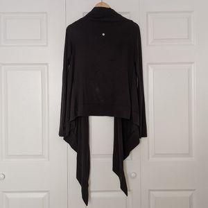 Lululemon Black Wrap S/M Cardigan Sweater Shawl